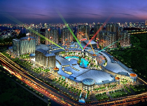 明发集团与汇融集团共同打造四川巴中黄石国际旅游度假区总投资逾100亿元