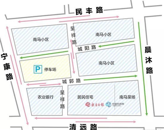 乐清南门又新增一停车场