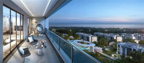 滨海新城这个红盘推新景观楼座、推窗即景......