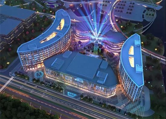 乐清蝴蝶广场跨年式,大建大美,城市有光!
