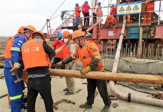 温州轨道交通S2线一期工程瓯江北口越江隧道盾构工程正式始发