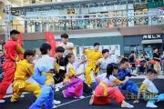 七彩劳动节蝴蝶广场项目开幕式正式揭开帷幕