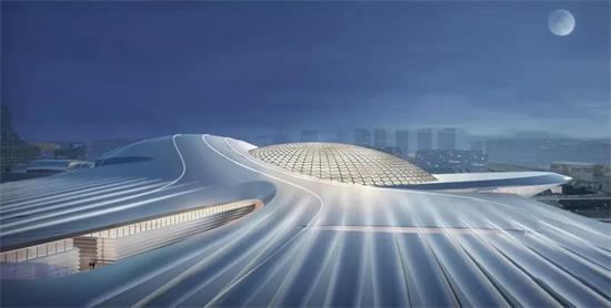 瓯江口温州新会展中心要来了